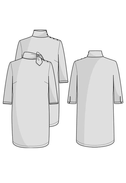Robe Bristol - Orageuse