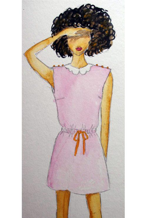 Robe Blouse Austen - Dessine moi un Patron