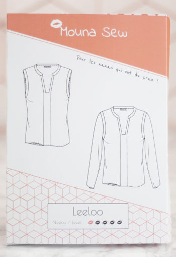 Blouse Leeloo - Mouna Sew