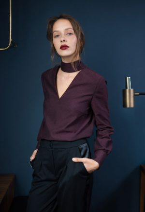 Blouse Prague - Orageuse