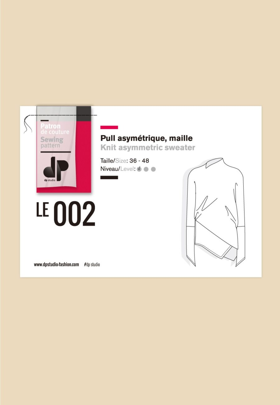 Pull asymétrique 002 - DP Studio