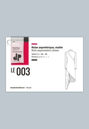 Robe asymétrique 003 - DP Studio