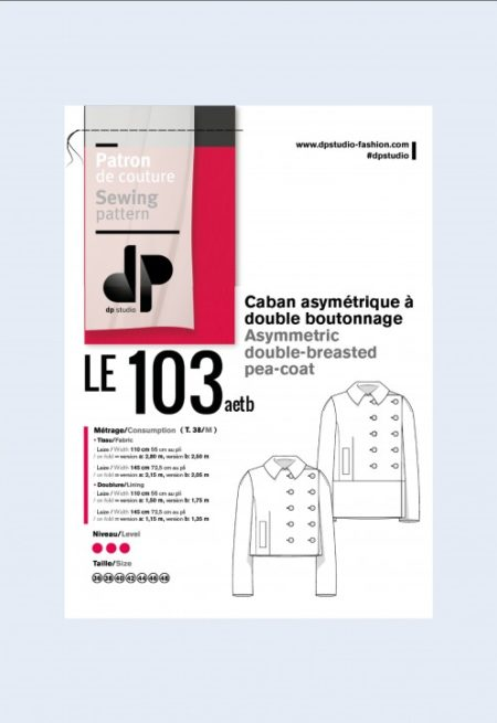 Veste caban 103 - DP Studio