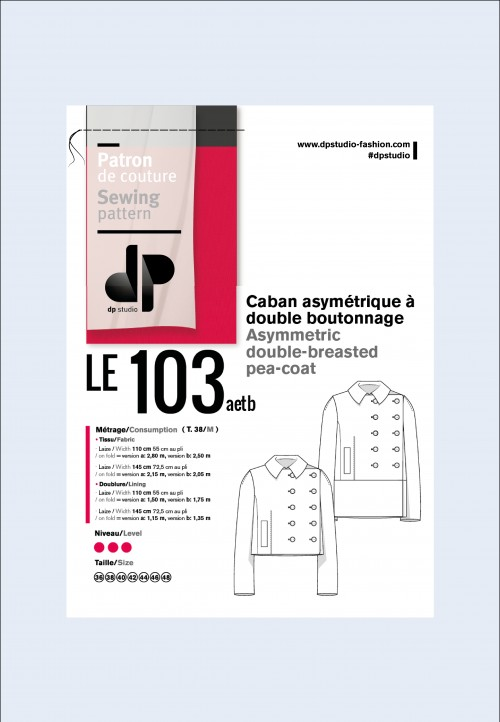 Veste caban 103 - DP Studio