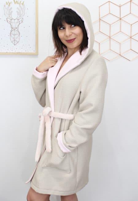 Peignoir Duchesse - Mouna Sew