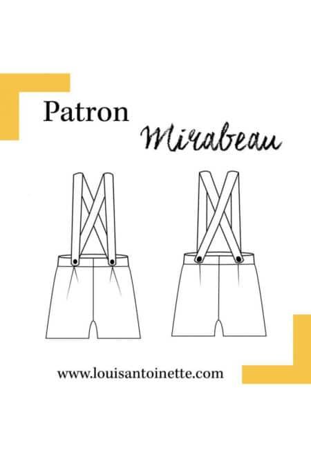 Short Mirabeau - Louis Antoinette