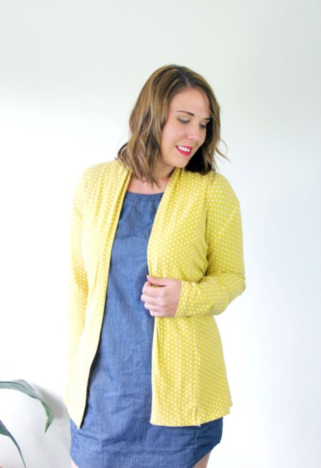 Cardigan Fall in Love - Sew to Grow