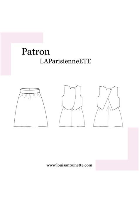 Robe LA Parisienne en été - Louis Antoinette