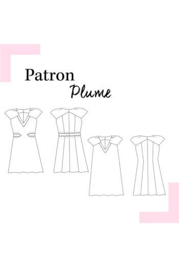 Robe Plume - Louis Antoinette