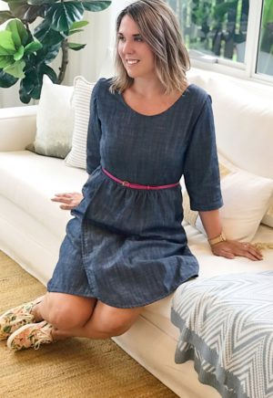 Robe Flatter Me - Sew to Grow