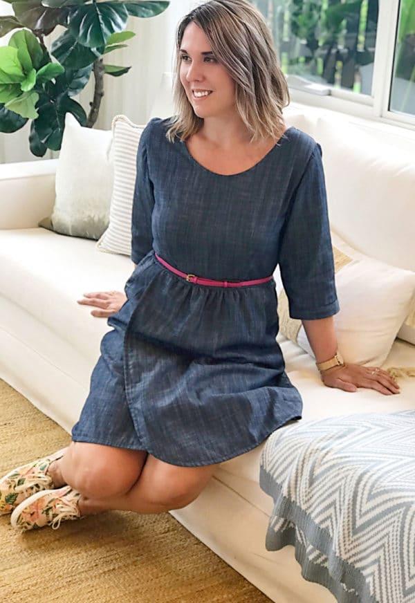 Robe Flatter Me - Sew to Grow
