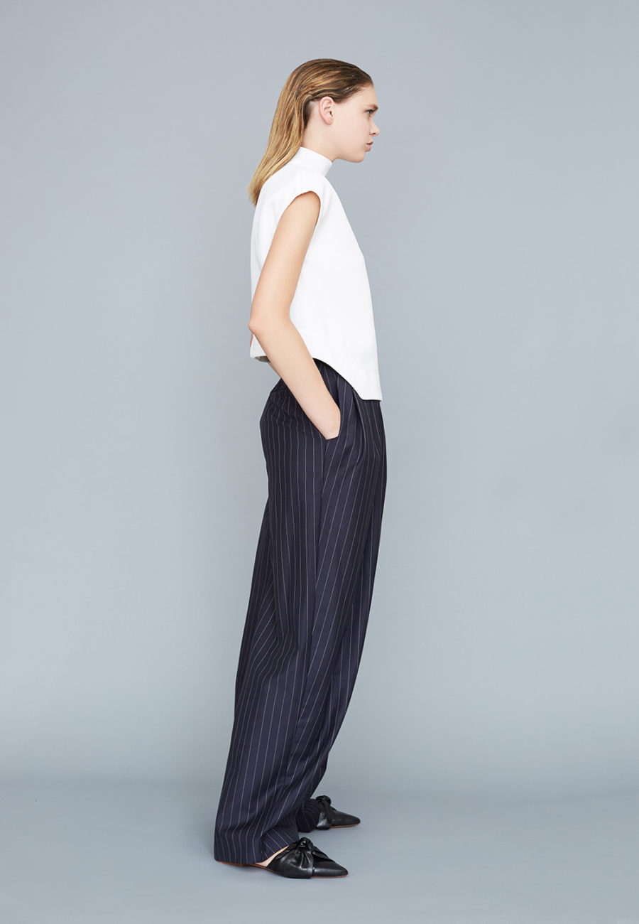Pantalon ample à plis 301- DP Studio