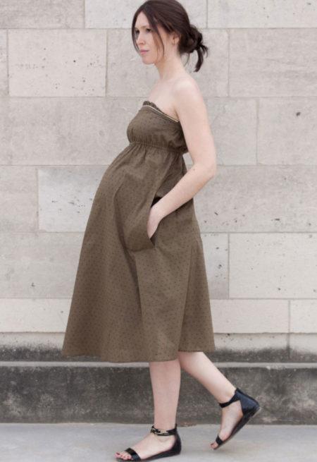 Robe Coconut grossesse - Atelier Scämmit