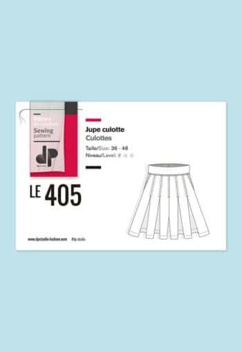 Jupe culotte 405 - DP Studio