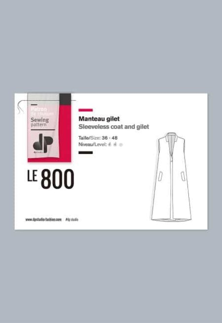 Manteau gilet 800 - DP Studio