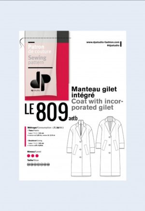 Manteau 809 - DP Studio