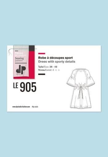 Robe à découpes sport 905 - DP Studio