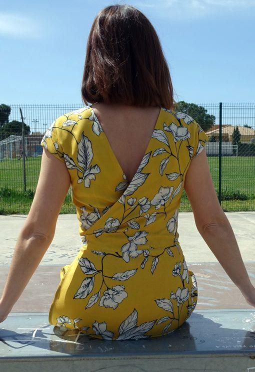 Patron couture Robe Top Leaf - Dessine moi un patron