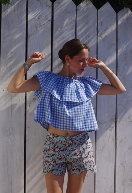 Patron Couture Facile Short Pippa