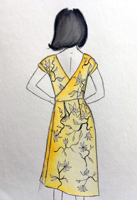 Robe Top Leaf - Dessine moi un patron