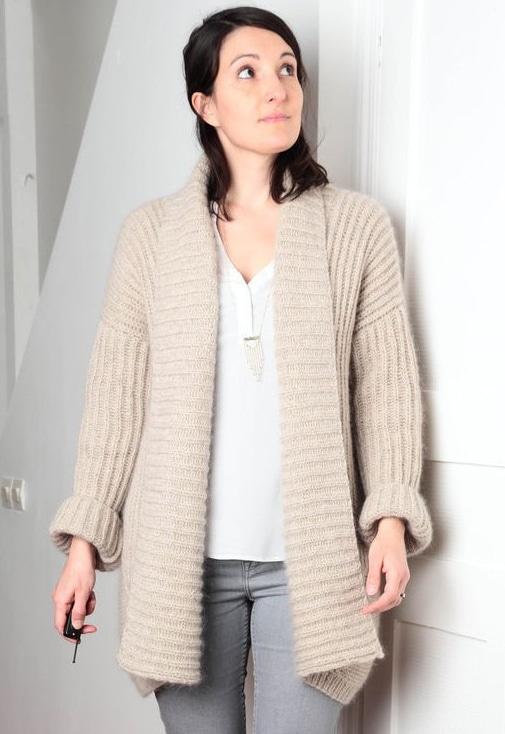 Veste Turku - L'Échappée Laine