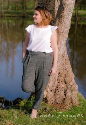 Pantalon Côme - Anne Kerdilés