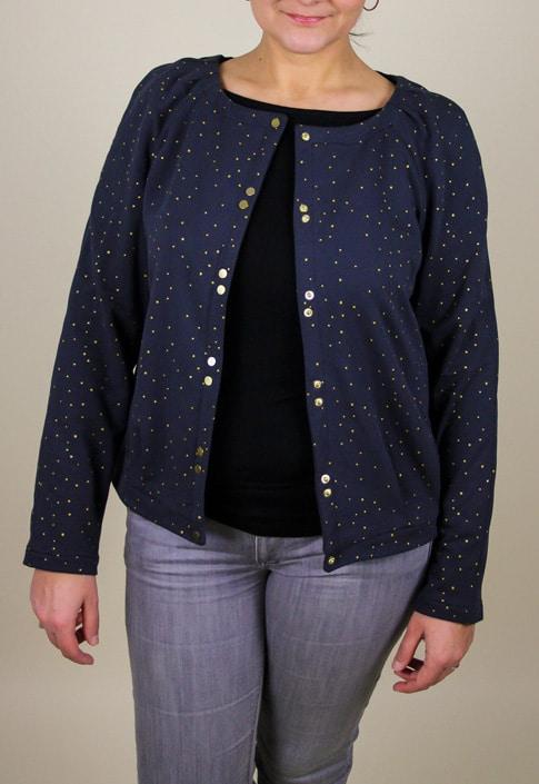 Cardigan Bergen - Anne Kerdilés