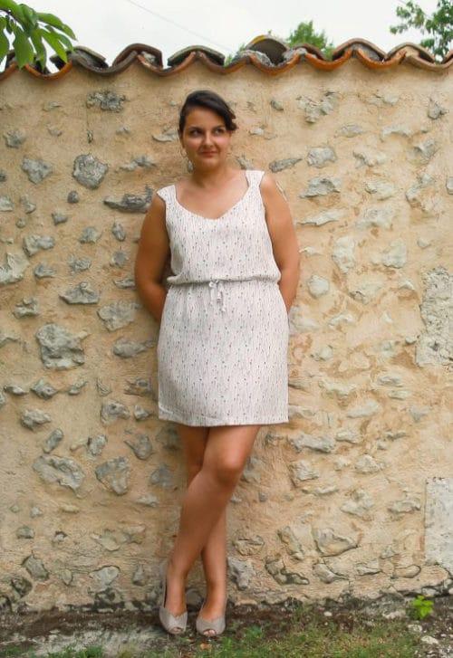 Patron Couture Robe / Top Minorque - Anne Kerdilés