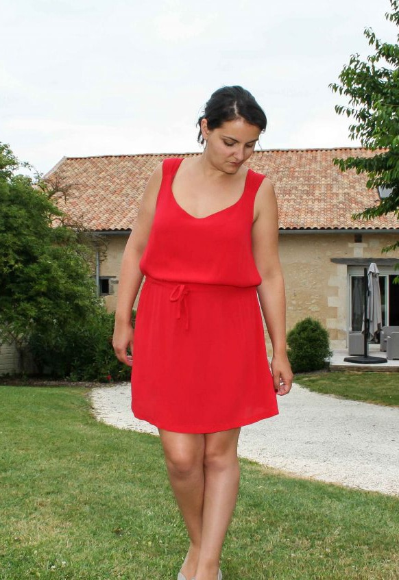 Robe / Top Minorque - Anne Kerdilés