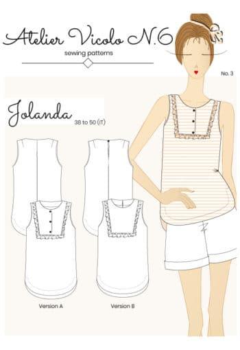 Top Jolanda - Atelier Vicolo N°6