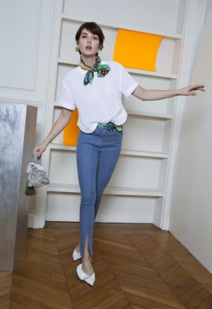 Patron de Couture Jean ajusté à 5 poches - 306 a et b - DP Studio