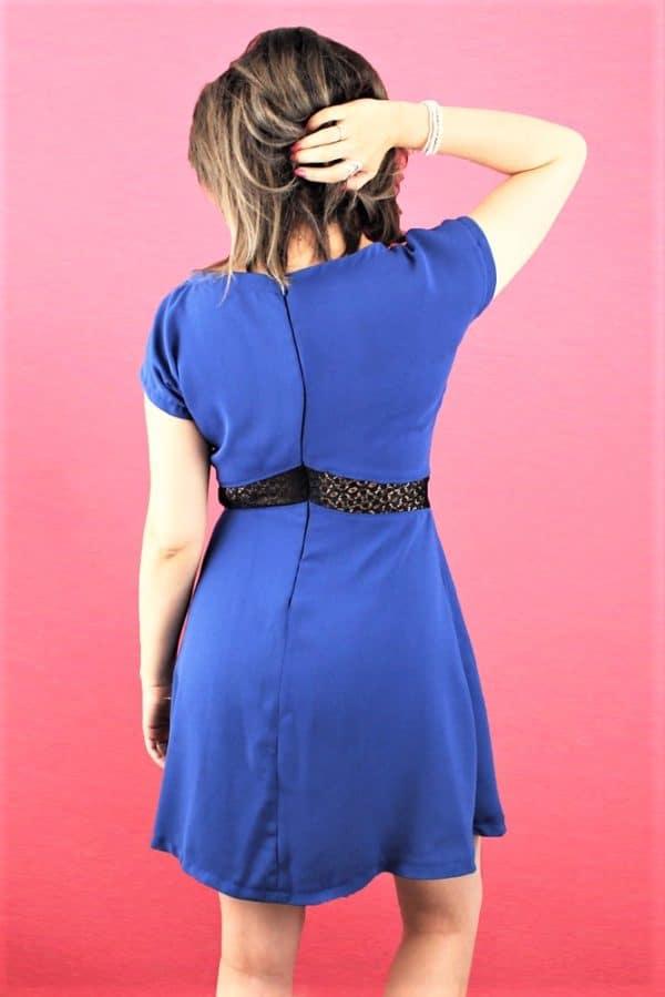 Patron Couture Robe Alina Mouna Sew de dos