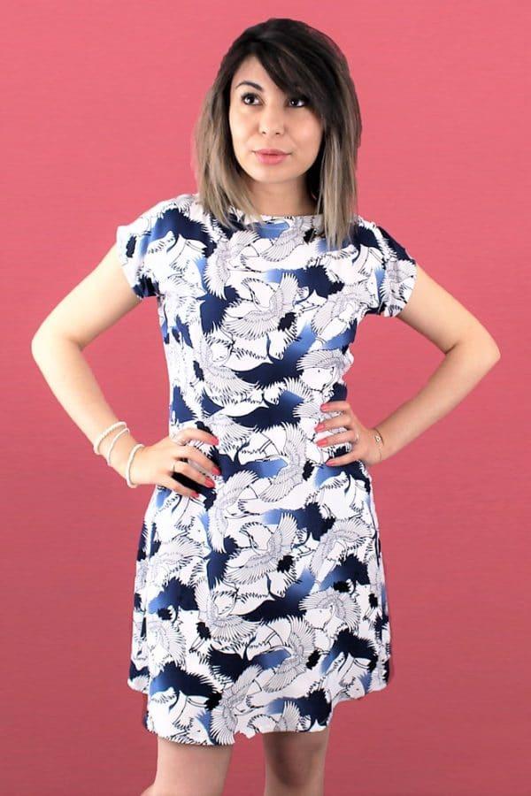 patron couture robe Alina de Mouna Sew