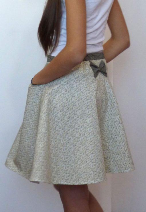 Patron de couture Jupe Olive Teen - Vanessa Salaün