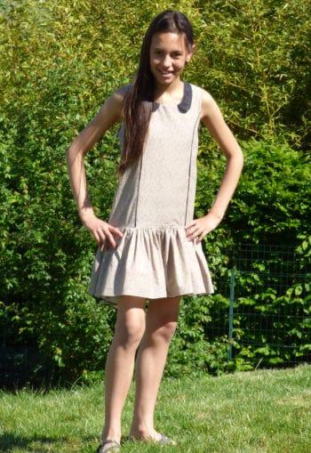 Patron de couture Robe Brunette Teen - Vanessa Salaün