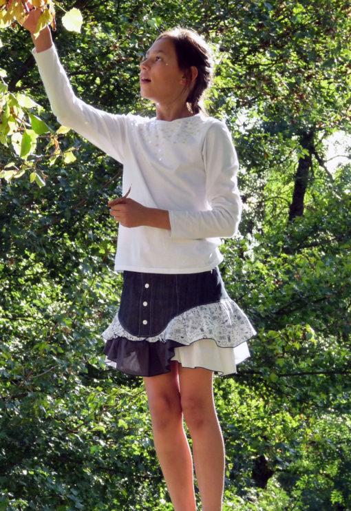 Patron de couture Jupe Royal - Vanessa Salaün