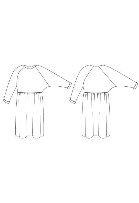 Patron Robe Cassiopée - I AM patterns