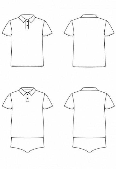 Patron Polo Body Chouette - I AM patterns