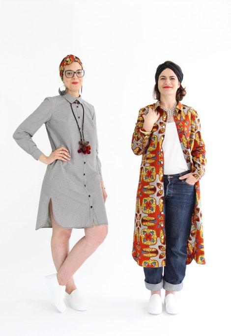 Patron de Couture Robe Chemise Hermes - I AM patterns