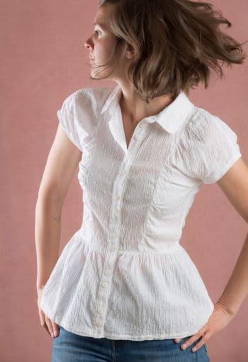 Patron de couture Chemise ou Robe-chemise Jolène - Ready to sew