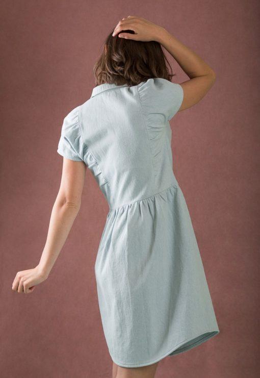 Chemise ou Robe-chemise Jolène - Ready to sew