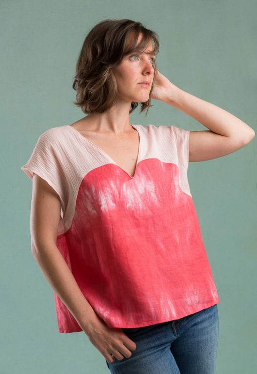 Robe ou t-shirt Josette - Ready to sew
