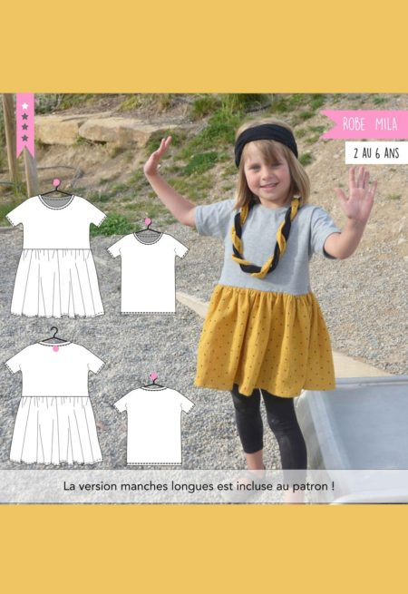 Robe et T-shirt Mila - Super Bison