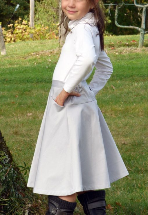 Patron de couture Jupe Olive - Vanessa Salaün