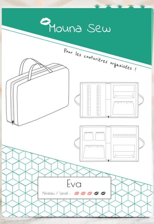 Patron de couture Organisateur Eva - Mouna Sew