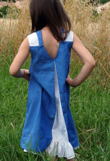 Patron de couture Robe Tunique Top Turquoise - Vanessa Salaün