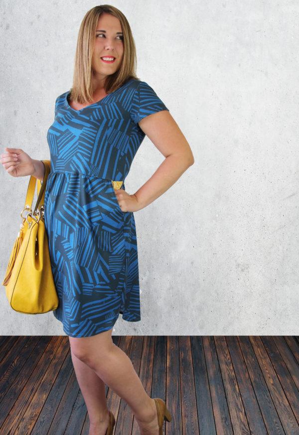 patron de couture Robe Meridan - Sew to Grow