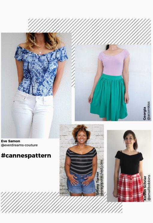 patron de couture Body Cannes - Kommatia Patterns