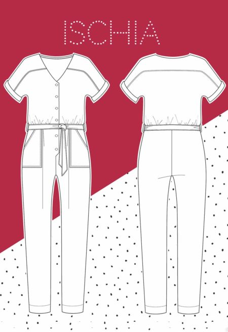 Patron Couture Combinaison Ischia - Slow Sunday