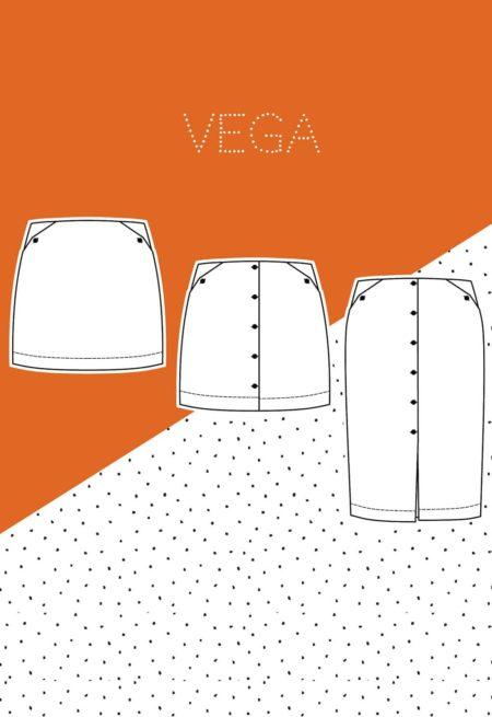 Patron de couture Jupe Vega - Slow Sunday